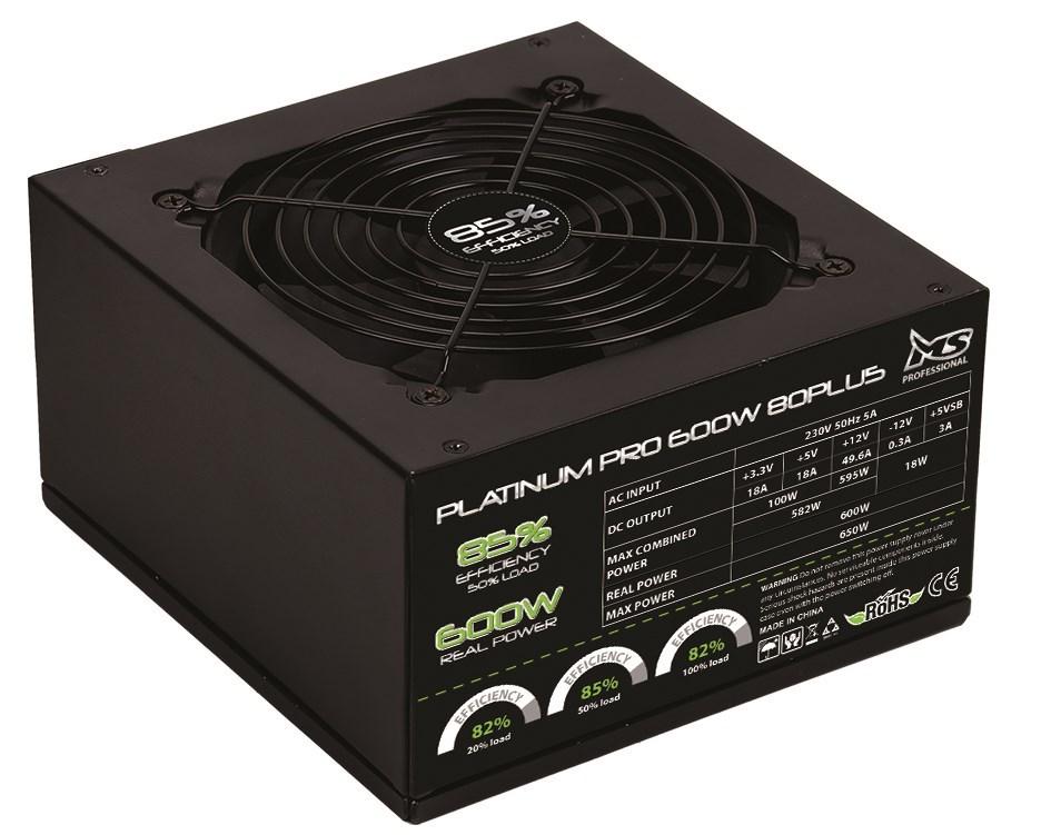 MS Platinum Pro 80+ 600W